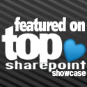 Featured on Top SharePoint Showcase