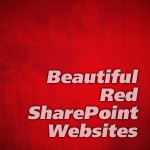 Beautiful Red SharePoint Websites