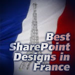SharePoint Branding Examples from France