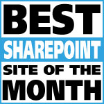 Best SharePoint Site Of The Month