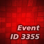 Event ID 3355