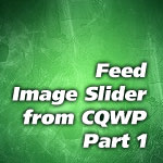 Feed jQuery Image Rotator from CQWP #1