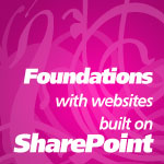 Foundations with Websites Built on SharePoint