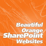 Orange SharePoint Website Examples