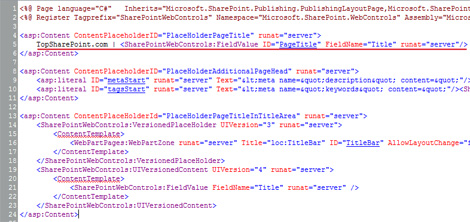 Change Title Tag on SharePoint Sites