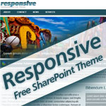 Responsive – Free SharePoint 2010 Theme