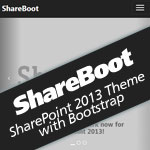 ShareBoot - Responsive SharePoint 2013 Theme