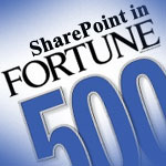 SharePoint in Fortune 500