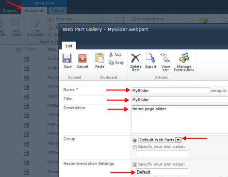 Feed Image Slider from CQWP – Part 2 | Best SharePoint Design Examples