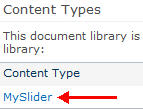 Feed a Slider from Content Query Web Part