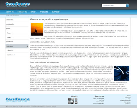 Tendance – Free SharePoint 2010 Theme