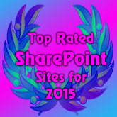 Top Rated SharePoint Sites for 2015