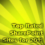 Top Rated SharePoint Sites for 2011