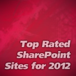 Top Rated SharePoint Sites for 2012
