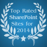 Top Rated SharePoint Sites for 2014