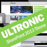Ultronic Premium SharePoint 2013/2016 Theme
