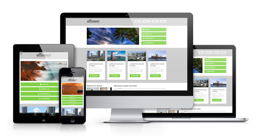 Ultronic Premium SharePoint 2013 Theme