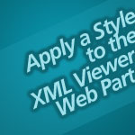 Apply a Style to the XML Viewer
