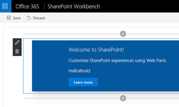 Local SharePoint Framework